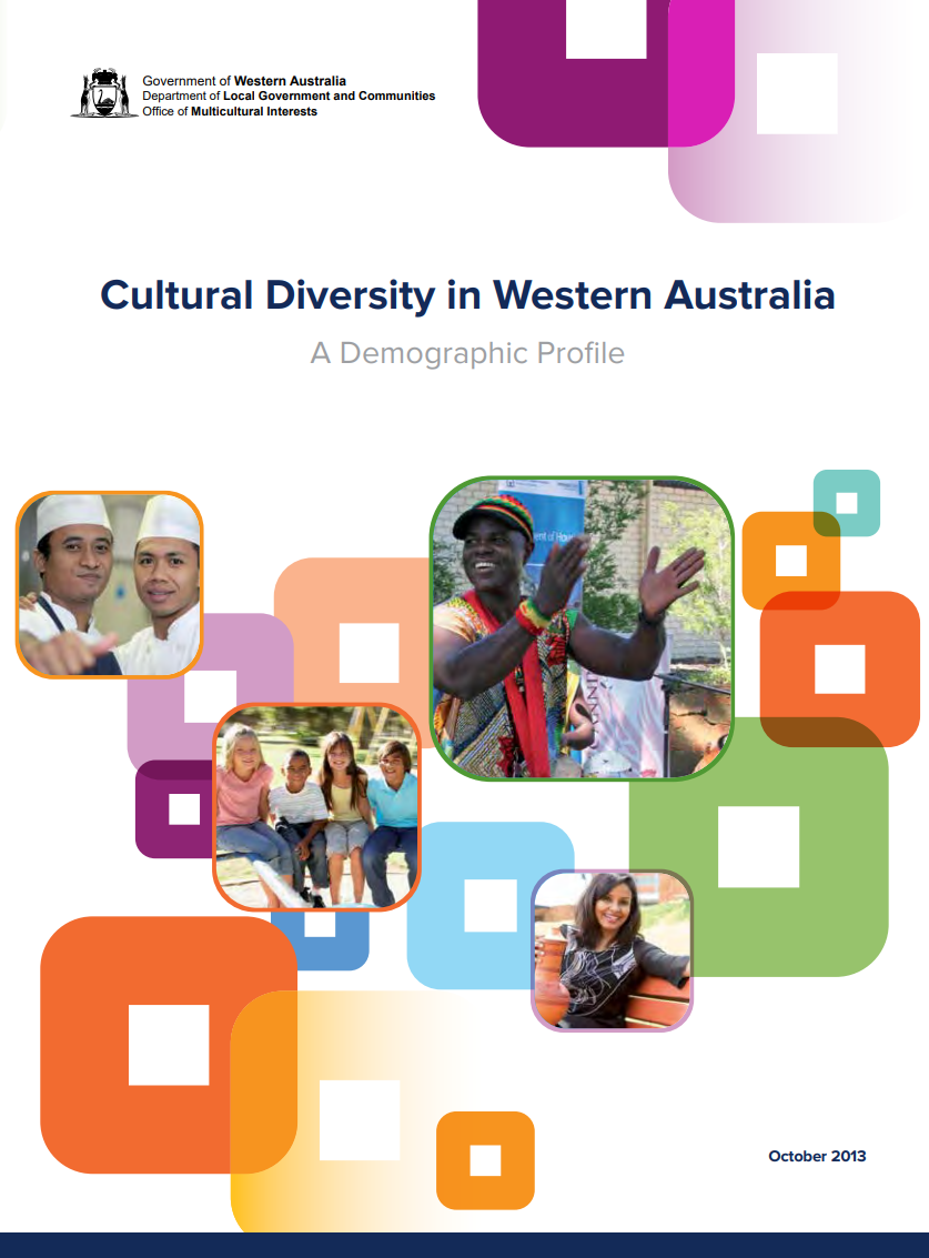 Cultural Diversity in Western Australia cover