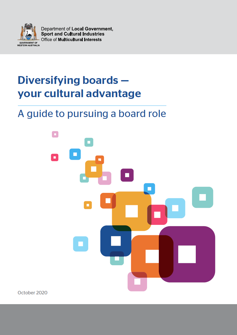 Diversifying boards — your cultural advantage cover