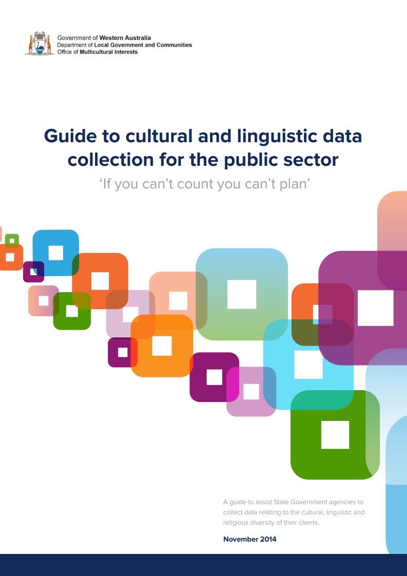 Guide to cultural and linguistic data collection for the public sector