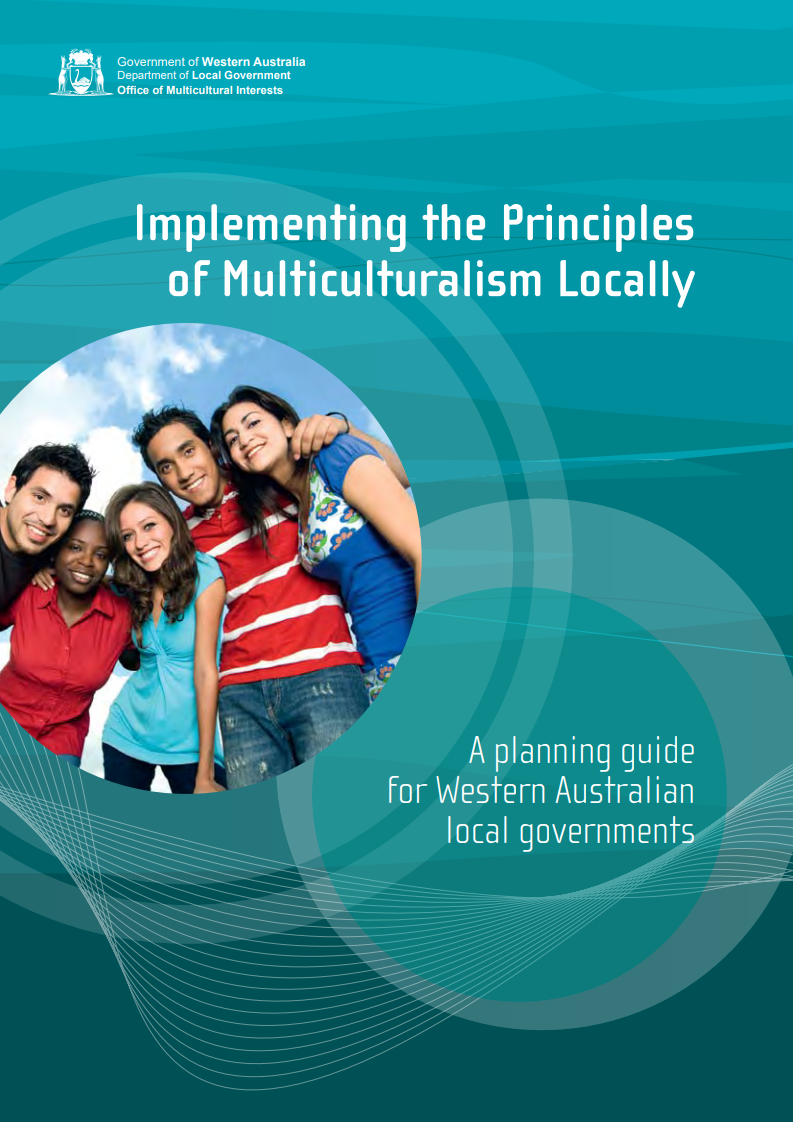 Implementing the Principles of Multiculturalism Locally cover