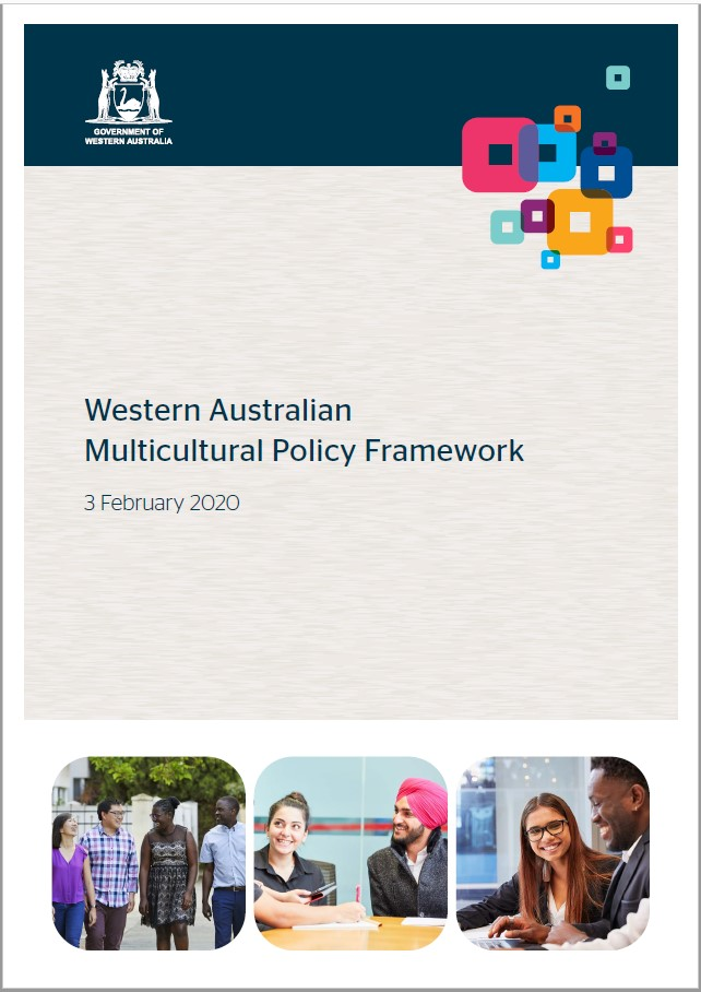 WA Multicultural Policy Framework cover
